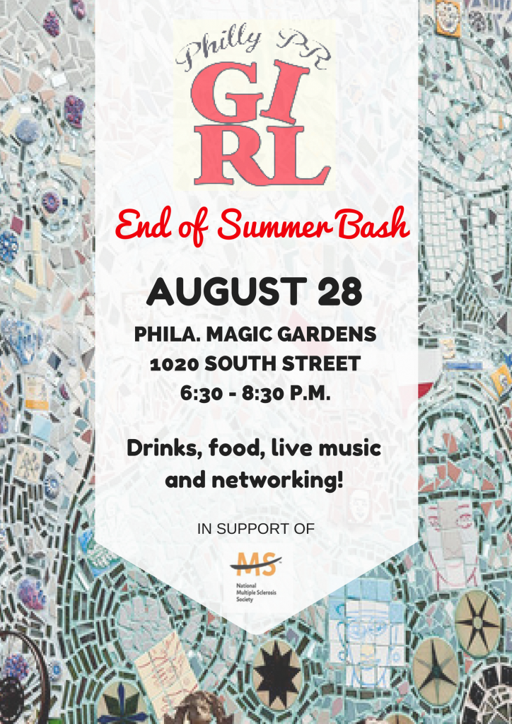 Philly PR Girl End of Summer Bash