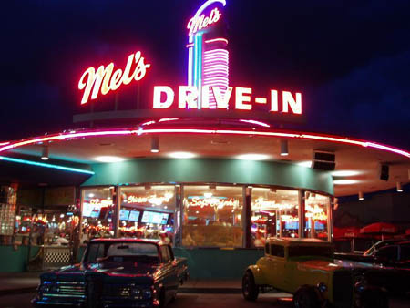 Pictures of 50s Diner Outside - #rock-cafe
