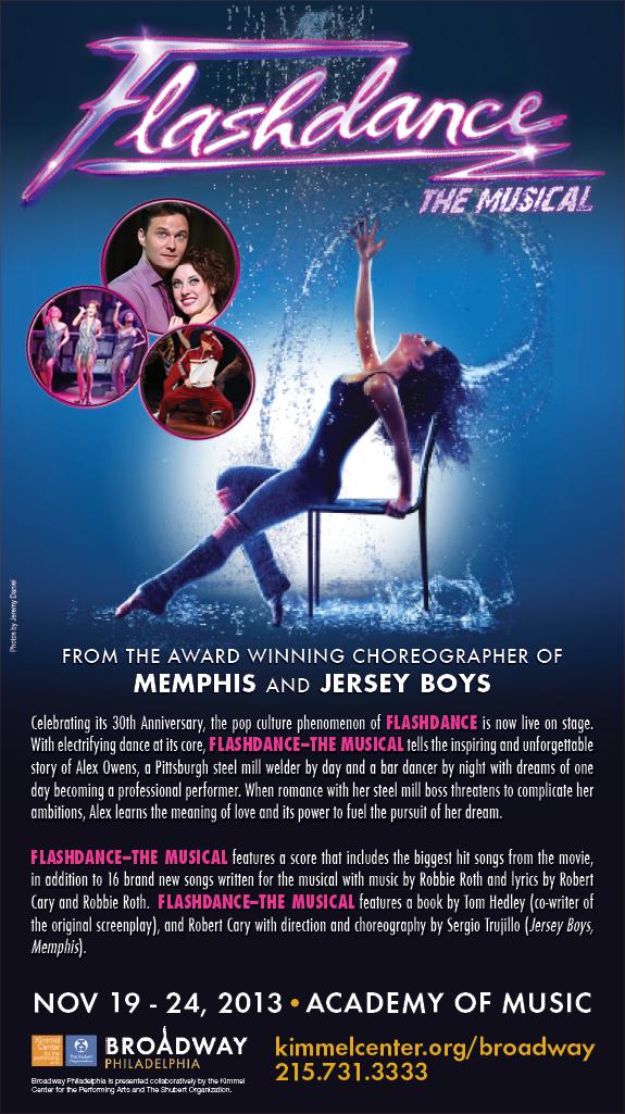 Lyric flashdance lyrics : Flashdance the Musical | Philly PR Girl