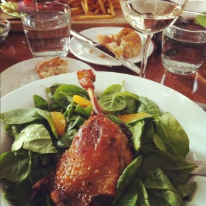 twenty manning grill duck confit