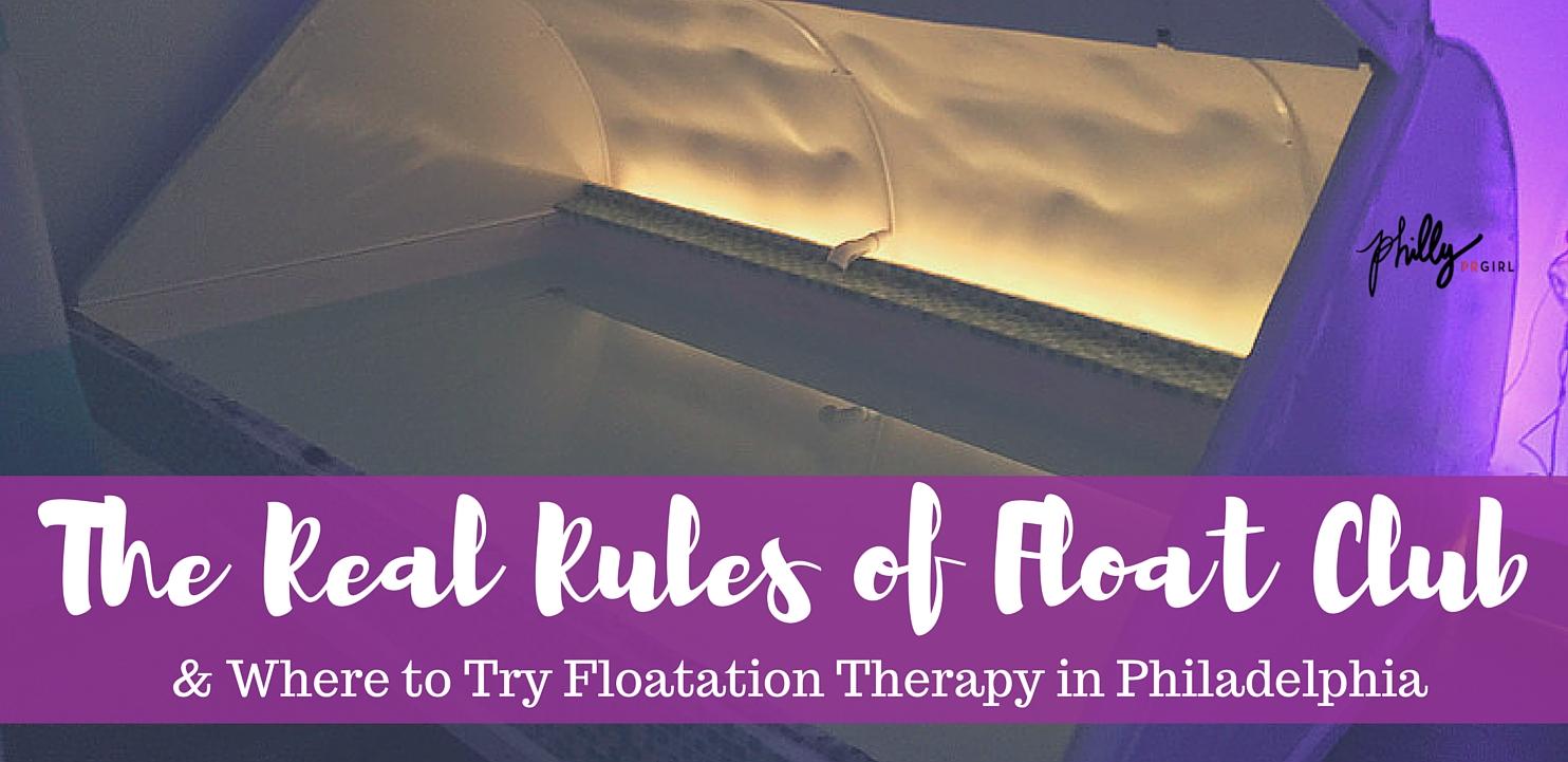 Floatation Therapy Philadelphia