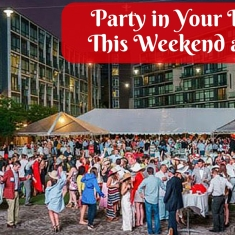 Party in Your Derby Attire This Weekend at the Piazza