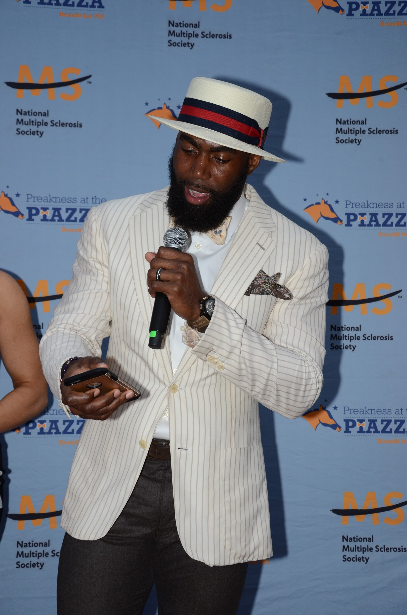 Best Preakness at the Piazza Hat: Malcolm Jenkins