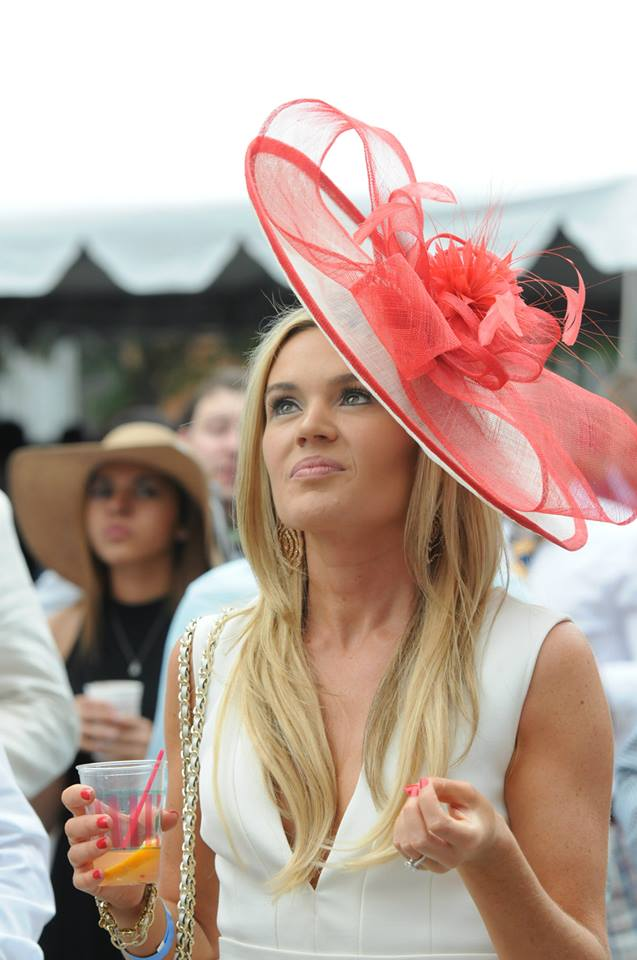 Best Preakness at the Piazza Hat: Val Gross
